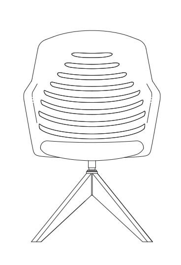 junea 10 11 four star wooden base mesh line drawing